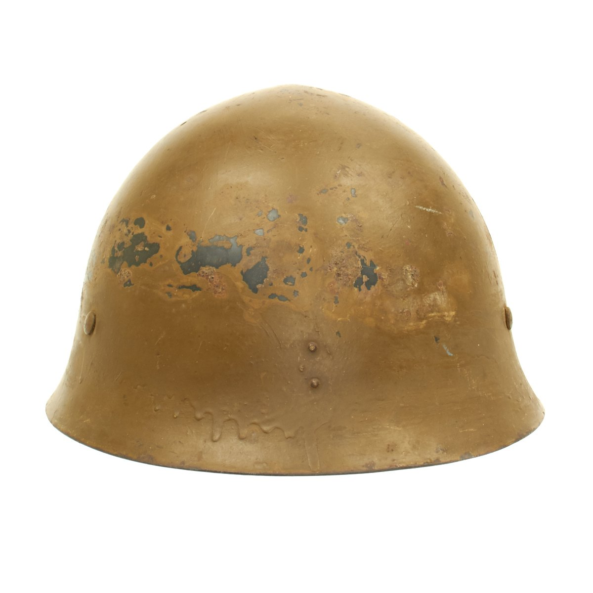 Original Japanese WWII Type 90 Army Helmet with Complete Liner and