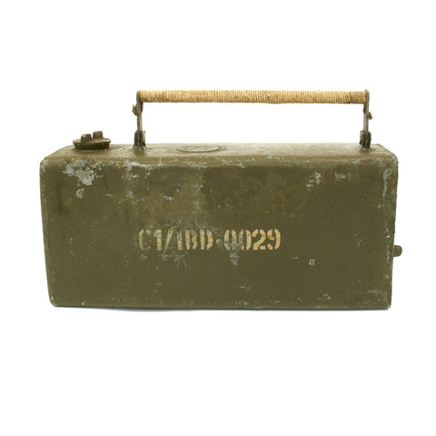 Orginal British WWII Vickers Machine Gun Water Can Dated 1941