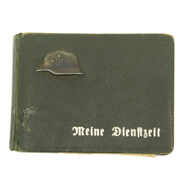 Original German WWII Army Officer Pocket Photo Album - Dated 1941