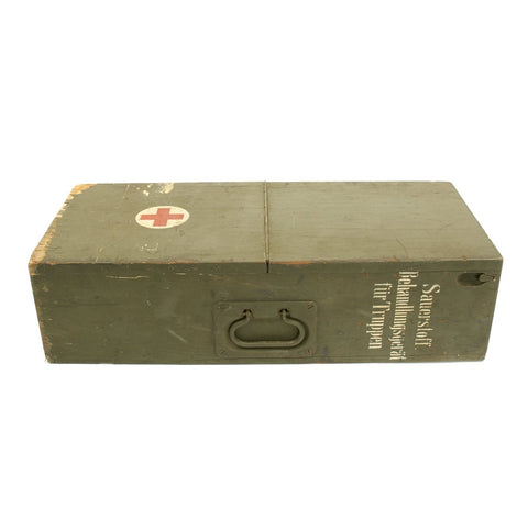 Original German WWII Medical Field Hospital Oxygenator Case - Sauerstoffbehandlungsgerät für truppen