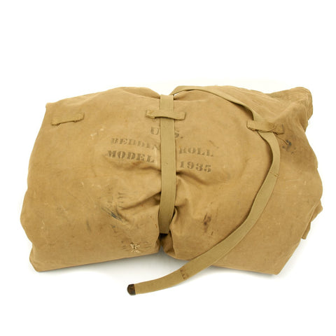 U.S. WWII Army Air Force Officer Named Model 1935 Bedroll