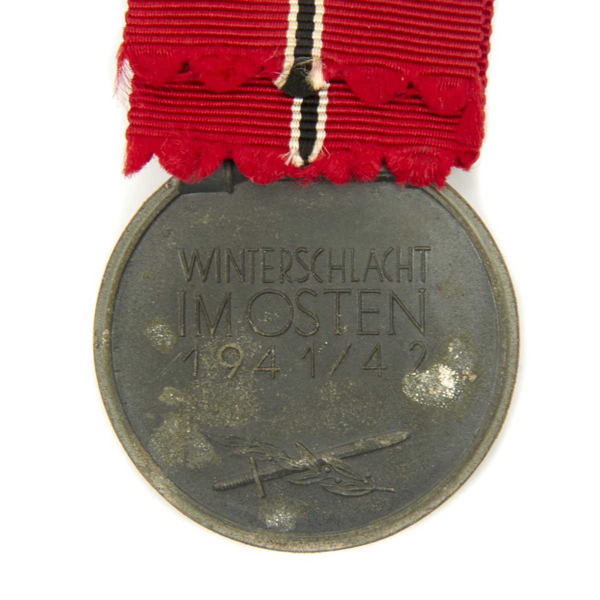 Original German WWII Eastern Front Medal by Forster & Barth