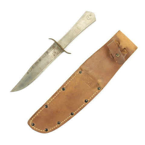 Original U.S. WWII North African Campaign Personalized Fighting Knife
