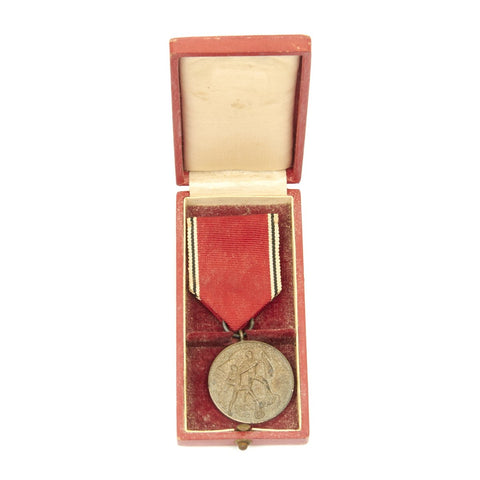 Original German WWII Austrian Anschluss Medal in Presentation Case - Circa 1938