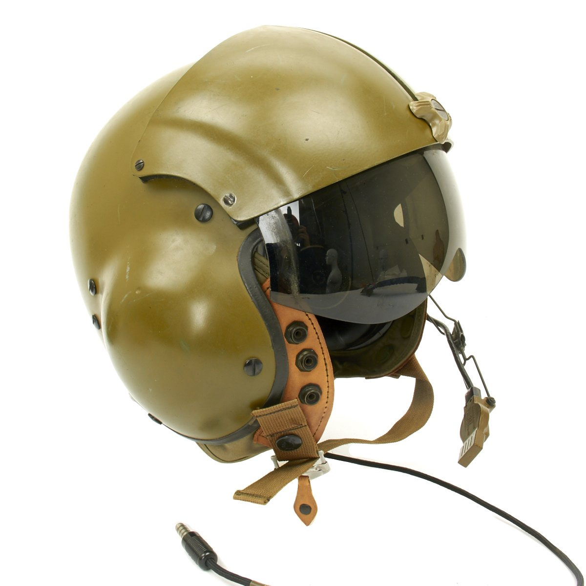 U.S. Vietnam War Helicopter Pilot Gentex SPH-4 Helmet with Felt Bag ... 14feb1e5ec741