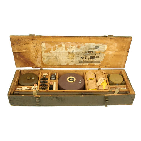 Original U.S. WWII Japanese Mine Training Aid Set