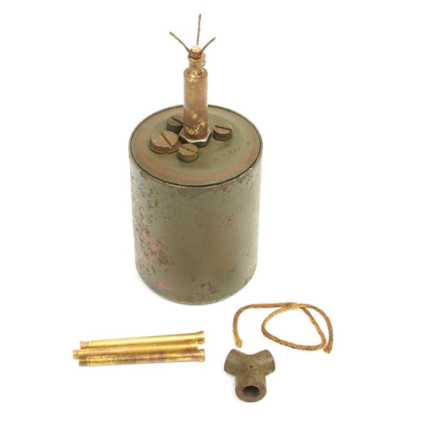 Original WWII German 1940 dated Bouncing Betty S-Mine - Maker Marked