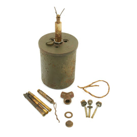 Original WWII German Bouncing Betty S-Mine with Shrapnel - 1941 Dated
