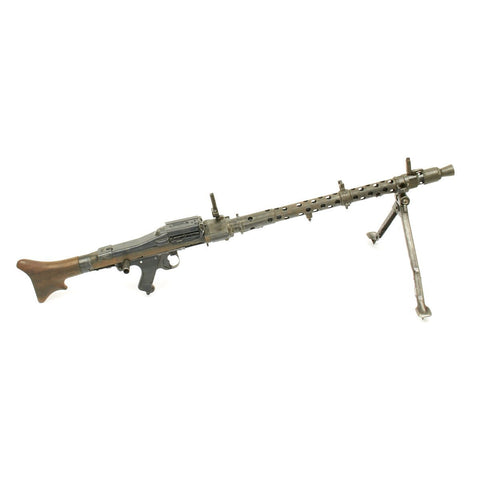 Original German WWII MG 34 Display Machine Gun - marked dot 1945