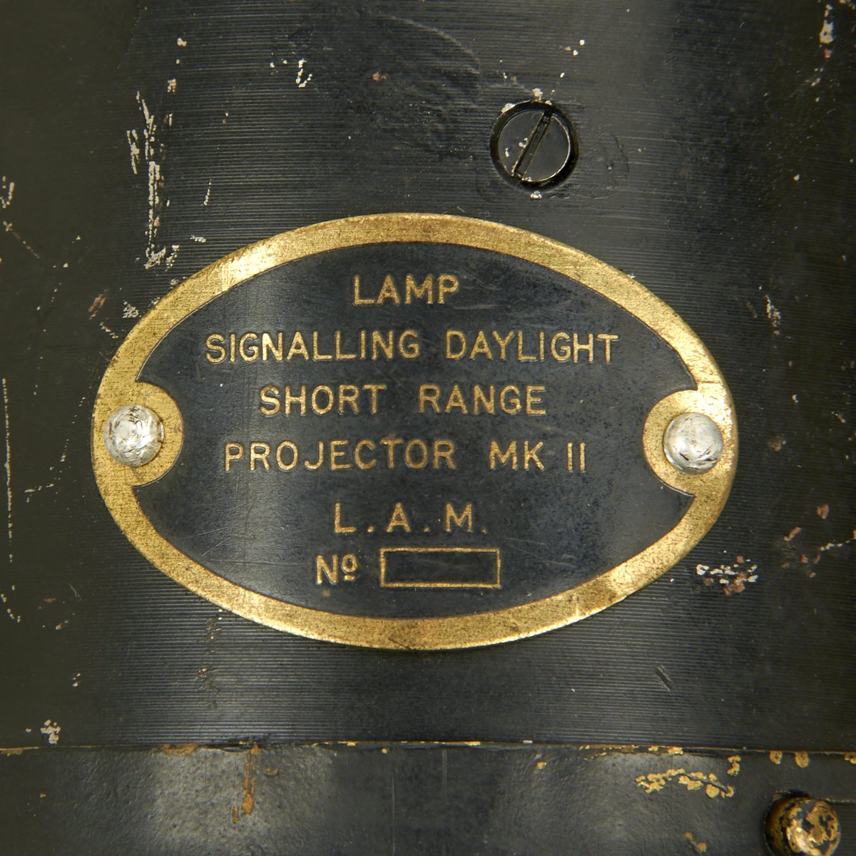 Original British WWII Signal Lamp Daylight Short Range MkII