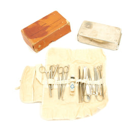 Original German WWII Field Medical Surgical Set by AESCULAP