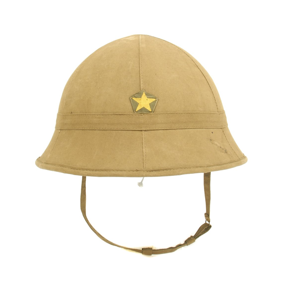 0e0711533cabc Original Imperial Japanese Army WWII Type 98 Sun Helmet - Excellent  Condition
