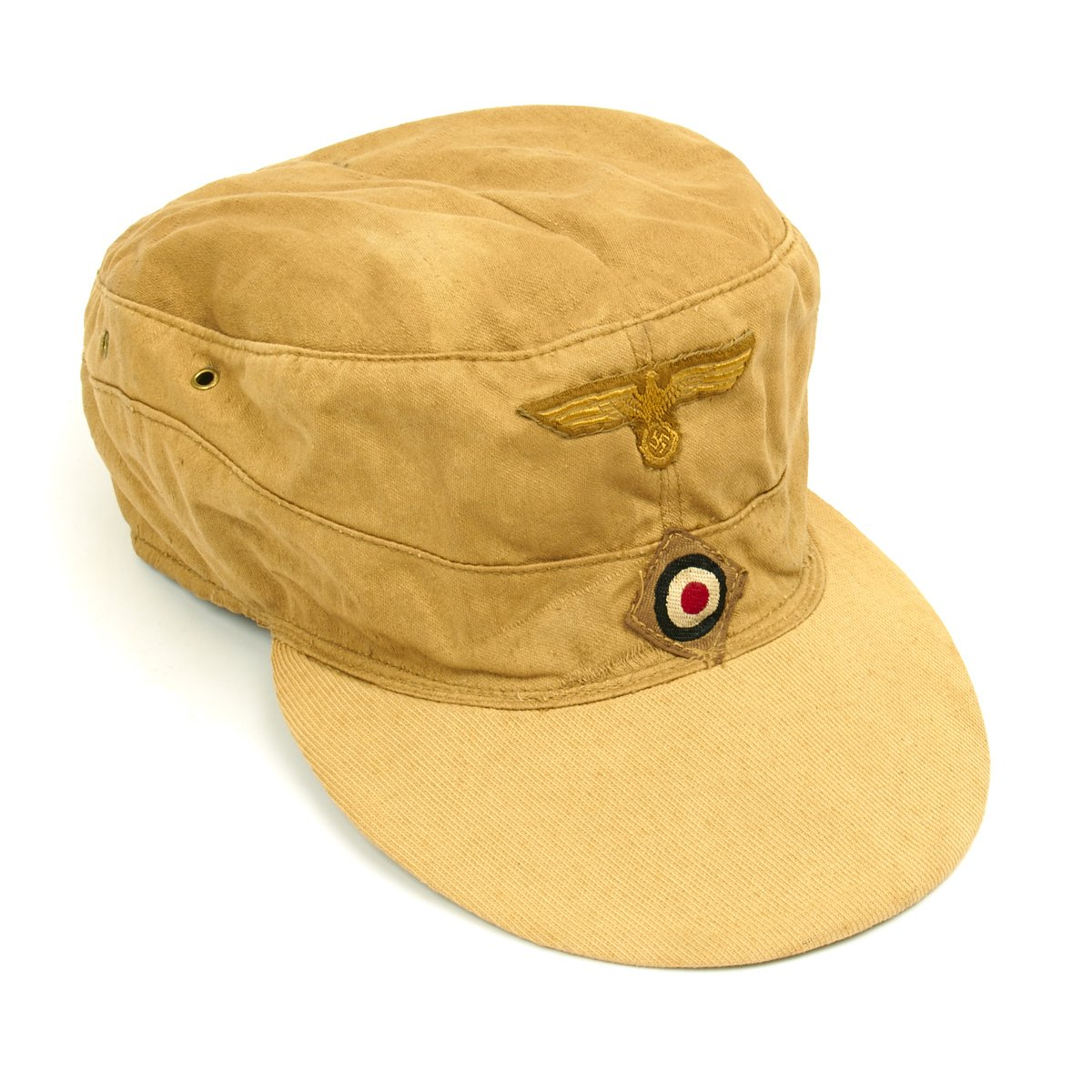 1beef5fc46ac6 Tap to expand · Next · Original German WWII M43 Afrika Korps Tropical Field  Cap - French Manufacture