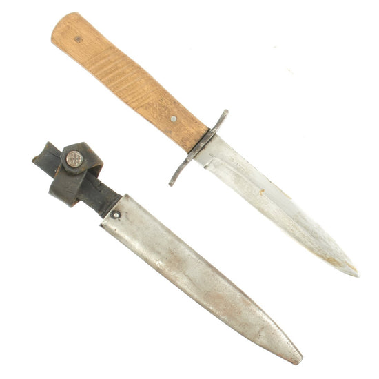 Original German WWI Fighting Trench Knife by Demag of Duisburg