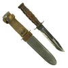show larger image of product view 1 : Original U.S. WWII Navy Mark 2 KA-BAR Fighting Knife by CAMILLUS with Personalized MK2 Scabbard Original Items