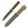 show larger image of product view 2 : Original U.S. WWII Navy Mark 2 KA-BAR Fighting Knife by CAMILLUS with Personalized MK2 Scabbard Original Items