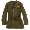 show larger image of product view 11 : Original U.S. WWII Executive Officer 690th Field Artillery Battalion (105mm Howitzer) Uniform Grouping Original Items