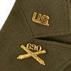 show larger image of product view 21 : Original U.S. WWII Executive Officer 690th Field Artillery Battalion (105mm Howitzer) Uniform Grouping Original Items