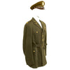 show larger image of product view 3 : Original U.S. WWII Executive Officer 690th Field Artillery Battalion (105mm Howitzer) Uniform Grouping Original Items