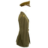 show larger image of product view 4 : Original U.S. WWII Executive Officer 690th Field Artillery Battalion (105mm Howitzer) Uniform Grouping Original Items