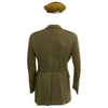 show larger image of product view 5 : Original U.S. WWII Executive Officer 690th Field Artillery Battalion (105mm Howitzer) Uniform Grouping Original Items