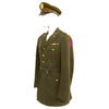 show larger image of product view 7 : Original U.S. WWII Executive Officer 690th Field Artillery Battalion (105mm Howitzer) Uniform Grouping Original Items