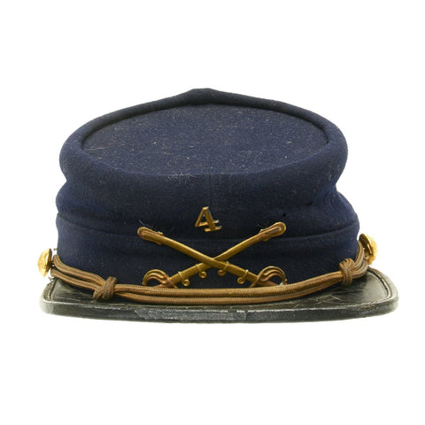 Original U.S. Army Indian Wars 4th Cavalry Chasseur Pattern Kepi