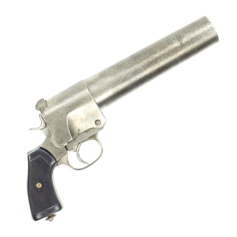 Original British WWI Webley & Scott 1916-dated No.1 Mk.I Signal Flare Pistol - Serial 13772