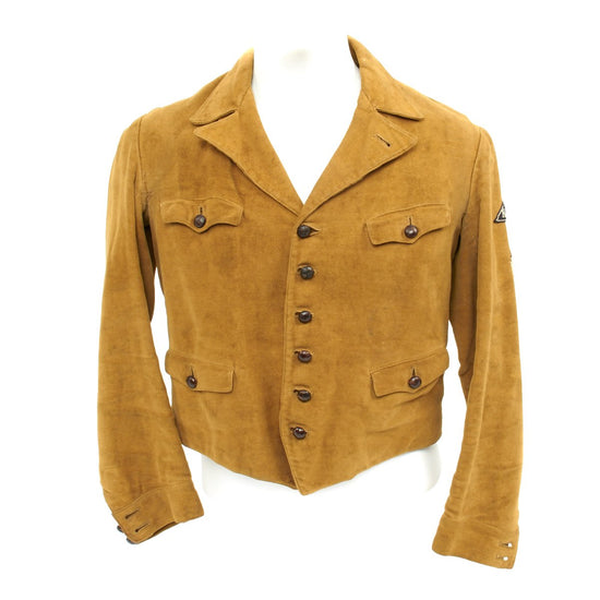 Original German WWII League of German Girls Climbing Jacket from Cologne - Aachen