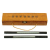 show larger image of product view 1 : Original Japanese WWII Barometer Set in Marked Wooden Case Original Items