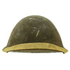 show larger image of product view 2 : Original British WWII P-1944 Turtle MK IV Steel Helmet by Briggs Motor Bodies - Dated 1945 Original Items