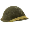 show larger image of product view 3 : Original British WWII P-1944 Turtle MK IV Steel Helmet by Briggs Motor Bodies - Dated 1945 Original Items