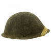 show larger image of product view 1 : Original British WWII P-1944 Turtle MK IV Steel Helmet by Briggs Motor Bodies - Dated 1945 Original Items