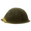 show larger image of product view 4 : Original British WWII P-1944 Turtle MK IV Steel Helmet by Briggs Motor Bodies - Dated 1945 Original Items