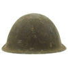 show larger image of product view 5 : Original British WWII P-1944 Turtle MK IV Steel Helmet by Briggs Motor Bodies - Dated 1945 Original Items