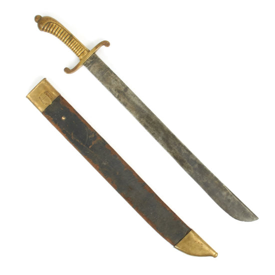 Original 19th Century Saxon M.1840 Faschinenmesser Pioneer Artillery Short Sword - Regimentally Marked