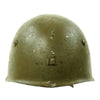 show larger image of product view 1 : Original WWII Italian M33 Service Worn Helmet Original Items
