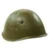 show larger image of product view 2 : Original WWII Italian M33 Service Worn Helmet Original Items
