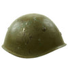 show larger image of product view 3 : Original WWII Italian M33 Service Worn Helmet Original Items