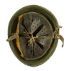 show larger image of product view 9 : Original WWII Italian M33 Service Worn Helmet Original Items