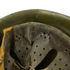 show larger image of product view 10 : Original WWII Italian M33 Service Worn Helmet Original Items
