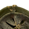 show larger image of product view 11 : Original WWII Italian M33 Service Worn Helmet Original Items