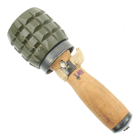 Original Hungarian 42/48 M Training Hand Grenade with Fragmentation Sleeve