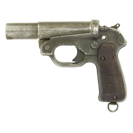 Original German WWII Leuchtpistole 42 Signal Flare Pistol LP-42 by euh - Matched Serial Number