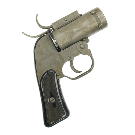 Original U.S. WWII M8 Pyrotechnic 37mm Flare Signal Pistol by SWC - Serial 314552