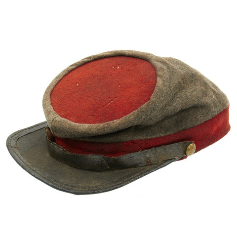 Original U.S. Civil War Confederate Richmond Virginia Depot Artillery Kepi