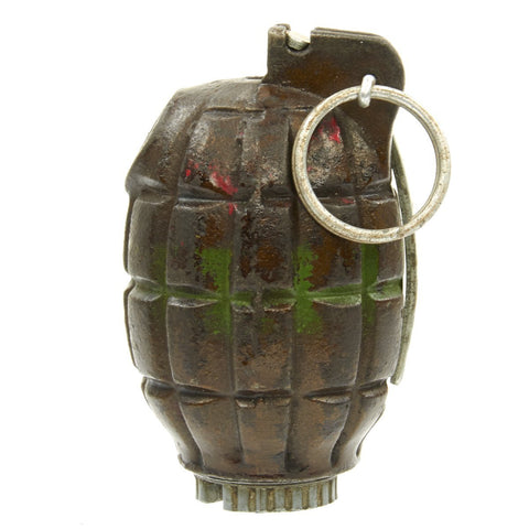Original British WWII MIlls Bomb No. 36M MKI Grenade Dated 1944 by JP&S