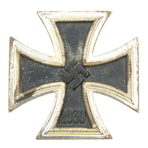 Original German WWII Iron Cross First Class 1939 by Steinhauer & Luck