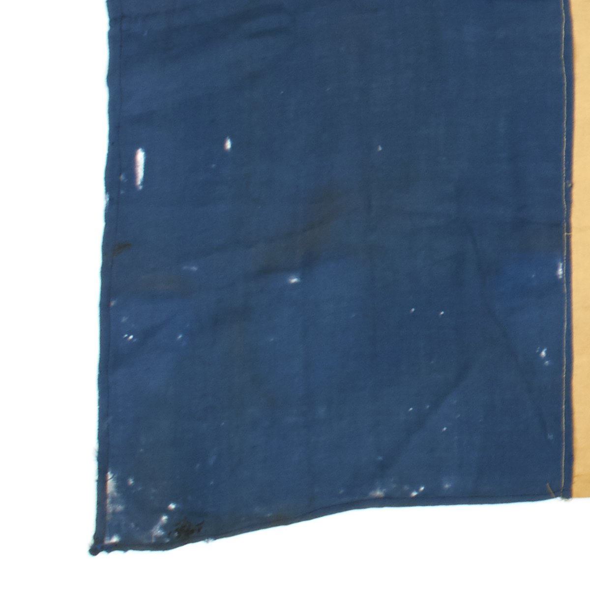 Original French WWII National Flag Captured and Signed by