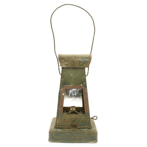 Original German WWI Trench Oil Lantern found in Belgium